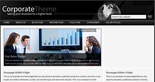 corporate wordpress templates