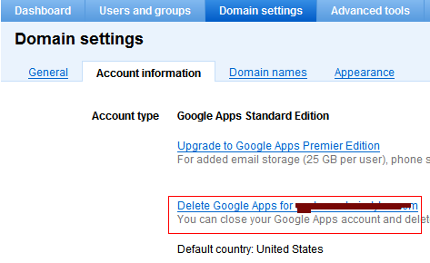 disable google apps