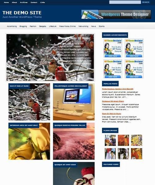 photo blog free wordpress