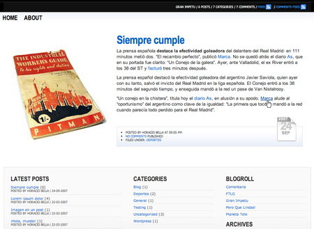 fontella wordpress template free