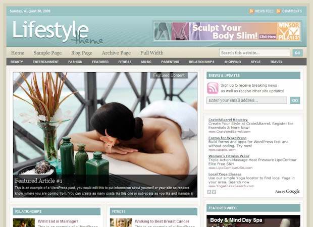 wordpress CMS Themes picture