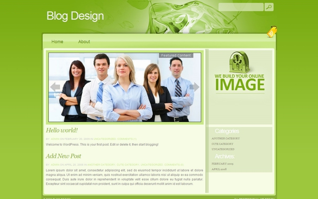 free-wordpress-wp-serious-business-template