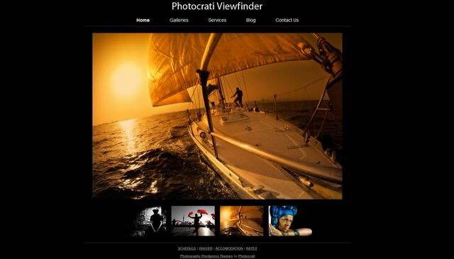 viewfinder WordPress Themes for Photographers