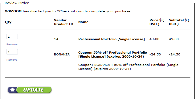 wpzoom coupon
