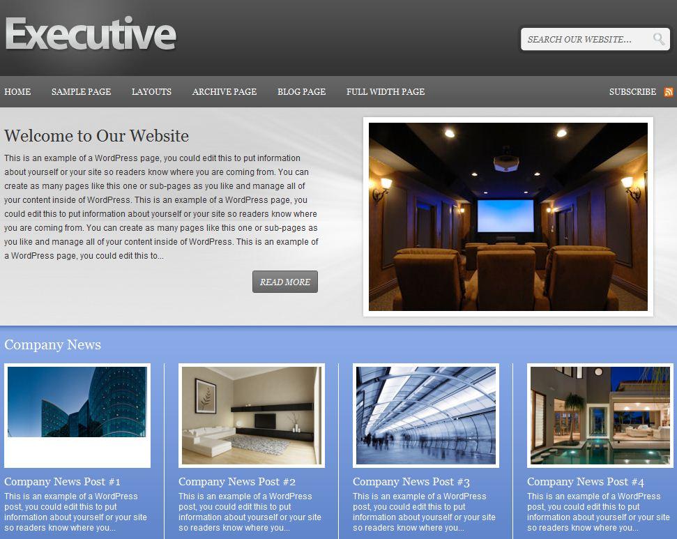 Business Corporate wordpress themes