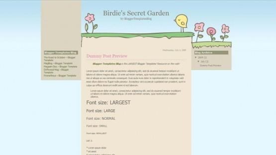 birdies-secret-garden-blogger-template-555x312