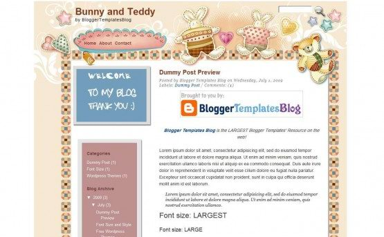 bunny-and-teddy-blogger-template-555x343