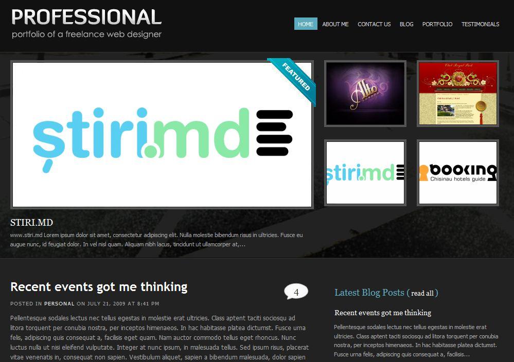 cool wordpress marketing wordpress theme