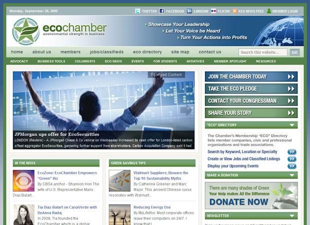 ecochamber wordpress cms theme