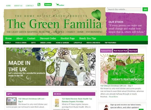 greenfamilia wordpress lifestyle theme