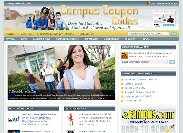 wordpress lifestyle theme campuscodes