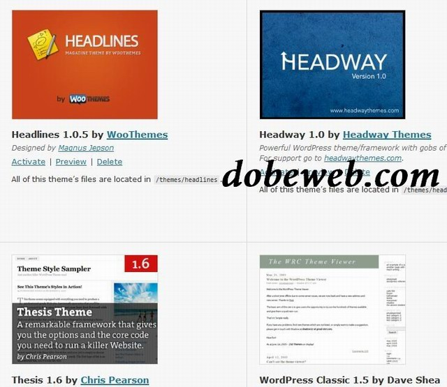 headway theme download