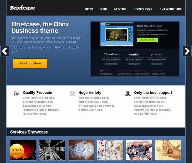 2010 wordpress cms coporate theme