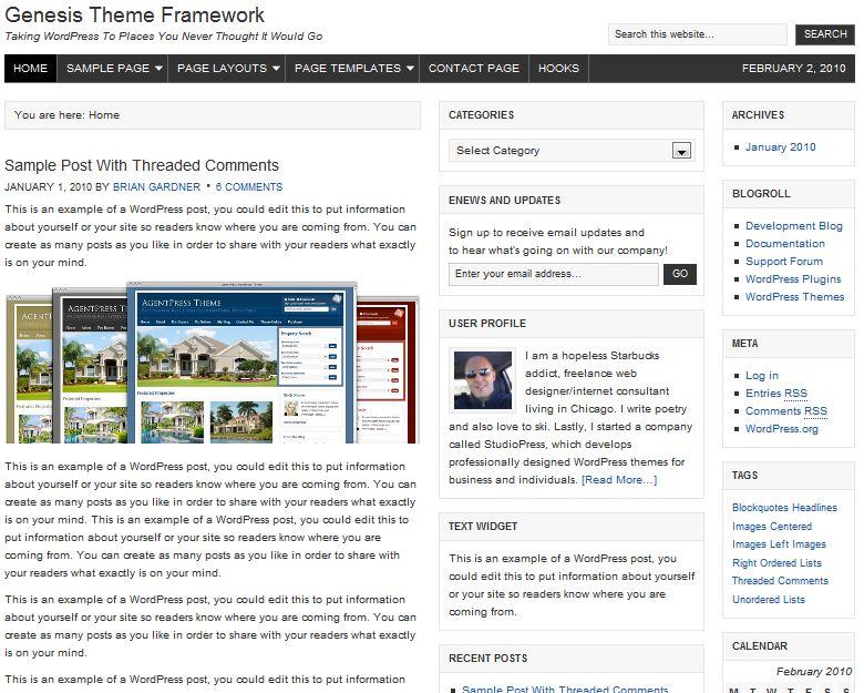 genesis theme framework discount code