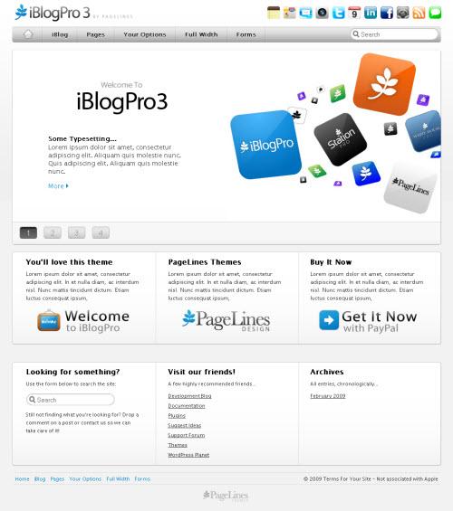iBlog Pro 3 wordpress theme