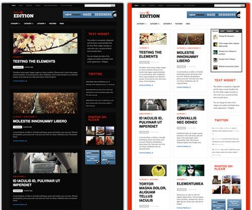 Daily Edition WordPress Theme