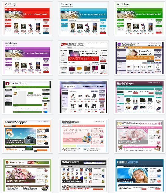 shopperpress theme example site