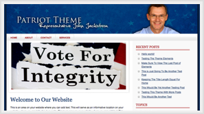 iThemes Patriot WordPress Theme
