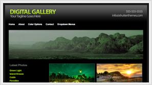 iThemes Digital Gallery WordPress Theme