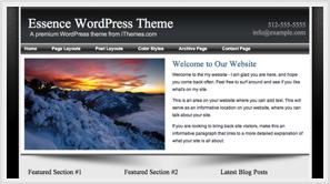 iThemes Essence WordPress Theme