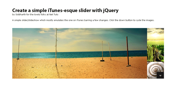 How to Create a Simple iTunes-like Slider
