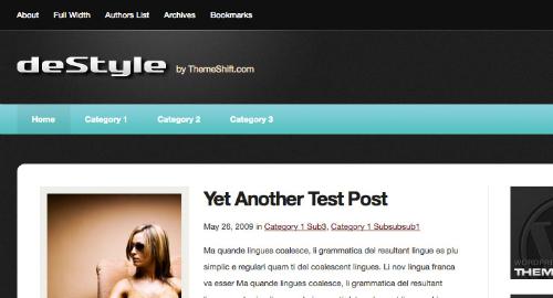 Free-WordPress-Theme-ThemeShift – deStyle Theme