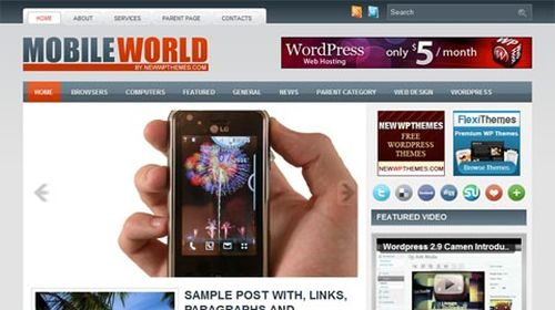 Free-WordPress-Theme-MobileWorld