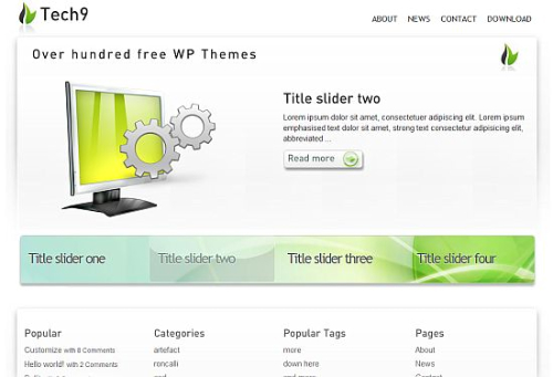 Free-WordPress-Theme-tech9