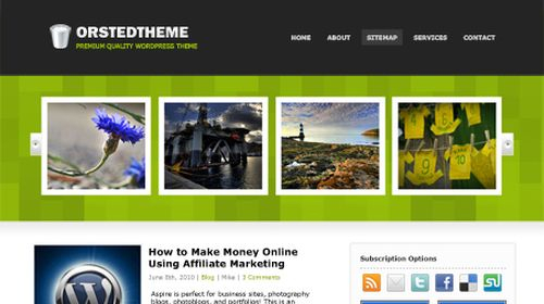 Free-WordPress-Theme-Orsted Free WordPress Theme