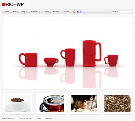 Corporate WordPress Theme