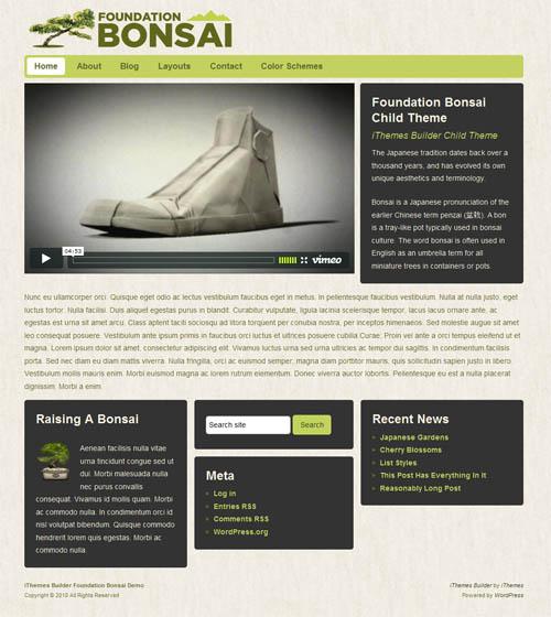 foundation bonzi wordpress theme