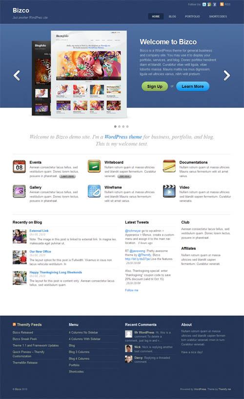 bizco-corporate-wordpress-theme
