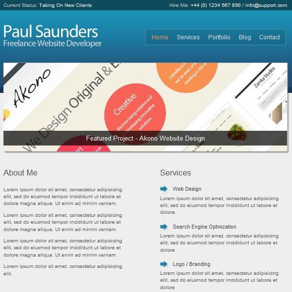 2011 business wordpress theme