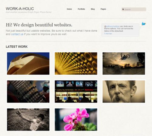 Wordpress-135 in 100 Free High Quality WordPress Themes: 2010 Edition