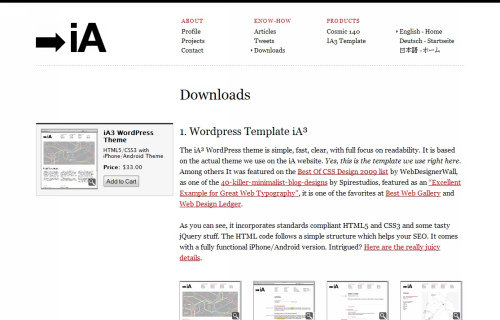 Wordpress-117 in 100 Free High Quality WordPress Themes: 2010 Edition