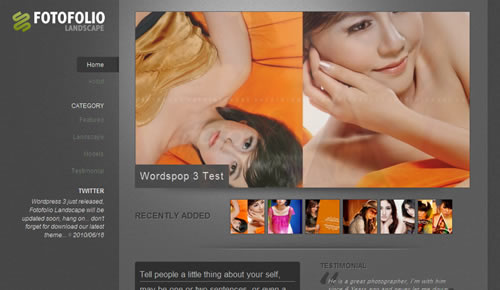 Sm WordPress Theme C in 100 Free High Quality WordPress Themes: 2010 Edition