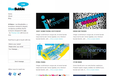 Wordpress-112 in 100 Free High Quality WordPress Themes: 2010 Edition