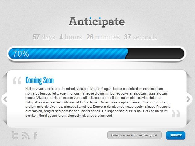pre-launch wordpress theme