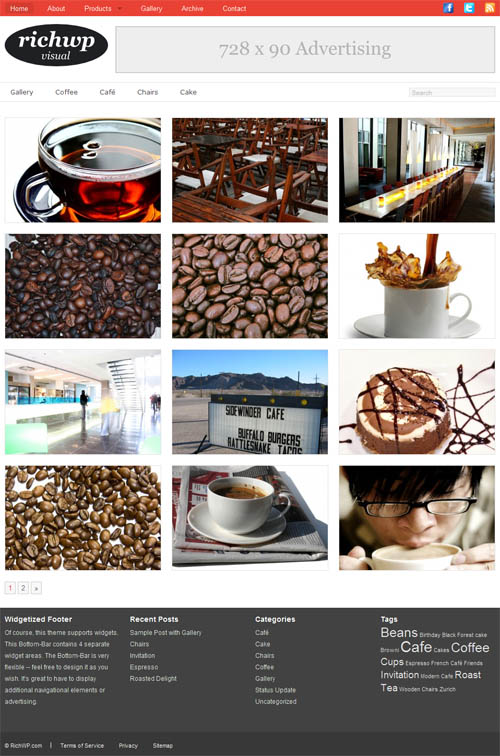 Rich Visual Premium WordPress Theme