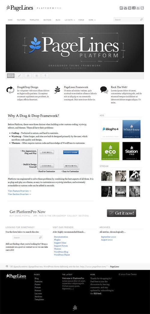 Platform Pro WordPress Theme Framework