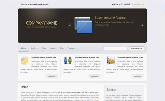 Silver-corporate-business-commercial-wordpress-themes