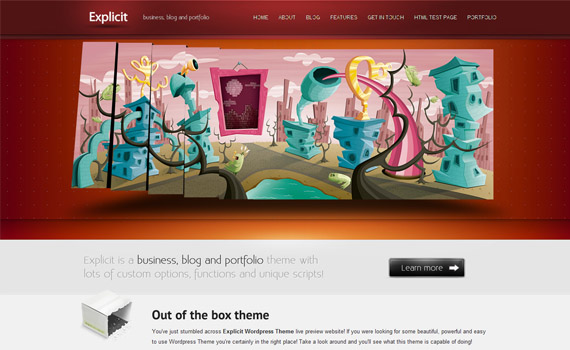Explict-corporate-business-commercial-wordpress-themes