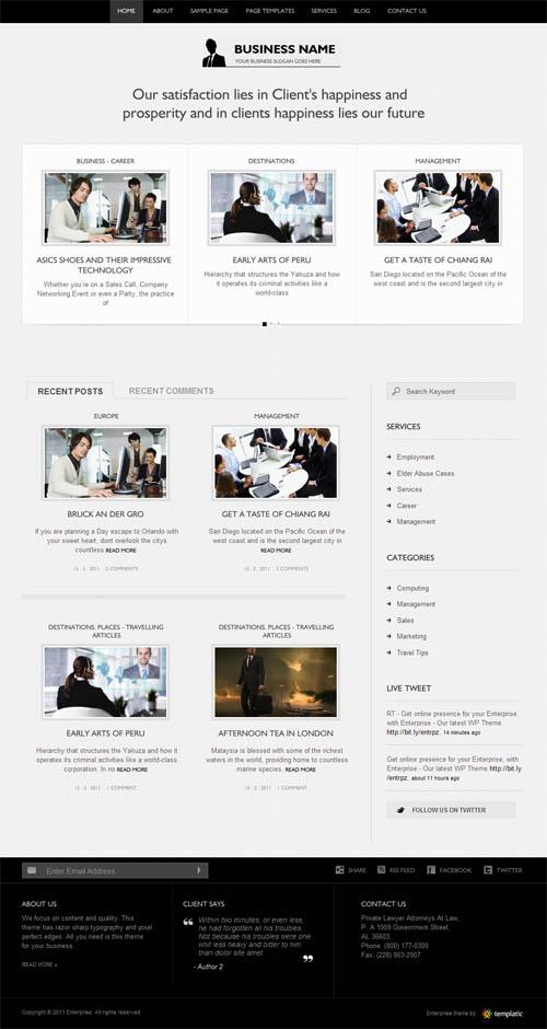 enterprise-wordpress-theme