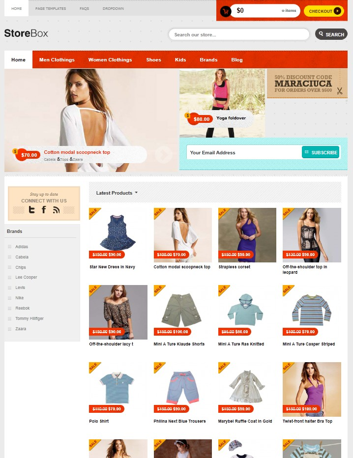 ecommerce wordpress theme storebox