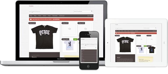 Woothemes Store WordPress Theme: Argentum Theme