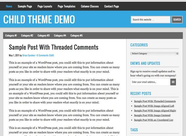 2012 free wordpress themes