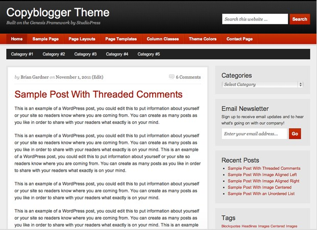 cool free wordpress theme