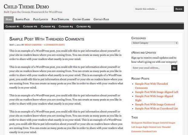 free studiopress wordpress themes