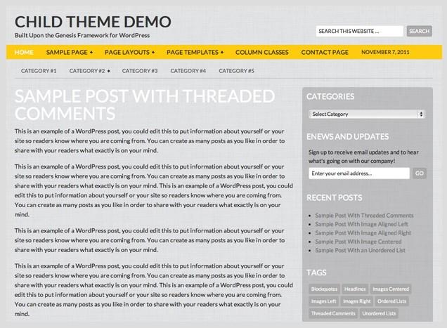 gray free wordpress theme 24k
