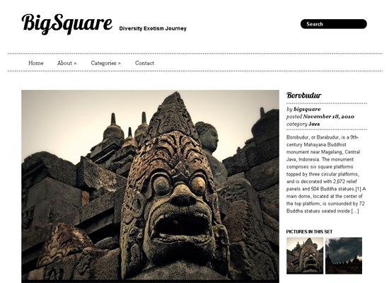 BigSquare WordPress Theme